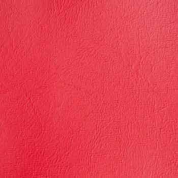 Röd bagageväska närbild