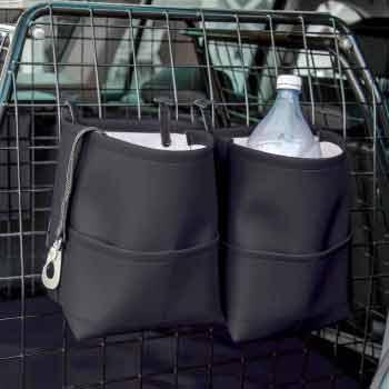 Svarta bagageväskor