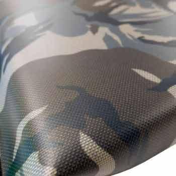 Närbild Modin Bed Camouflage