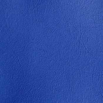 Konstläder blå närbild