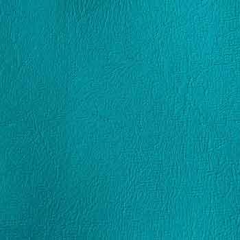 Konstläder havsgrön närbild