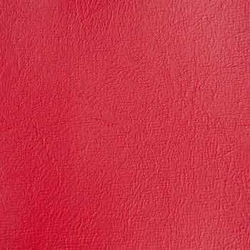 Konstläder röd närbild