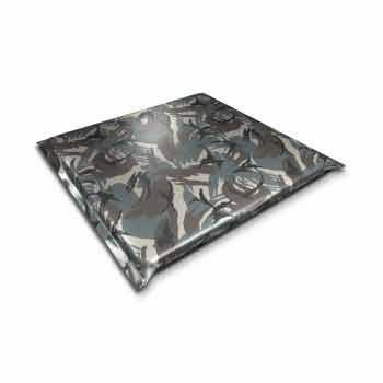 Modin Bed Neptunus camouflage hundbädd 74x70 cm