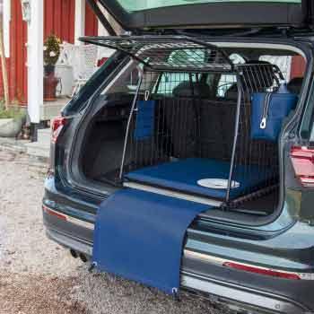 Stötfångarskydd för hund, Blå