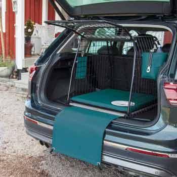Stötfångarskydd för hund, Havsgrön
